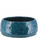 Keramik Schale Leano, D20cm, H9cm, petrol